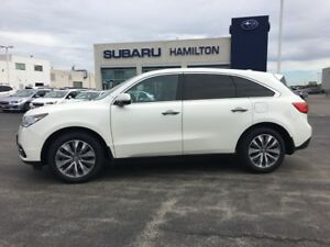 2016 Acura MDX Navigation Package ONE OWNER | NO ACCIDENTS |...