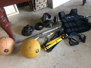 Weights and gym equip Elanora Heights Pittwater Area Preview