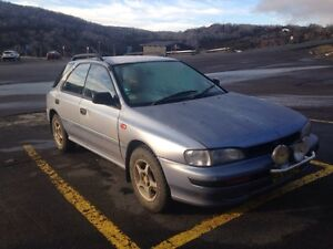 Subaru Impreza 1993 hatchback Candelo Bega Valley Preview
