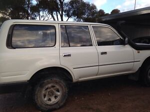 Toyota Landcruiser 80 Series NO SWAPS!! Blanchetown Mid Murray Preview