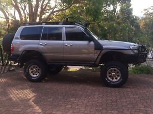 "6"" lifted 105 series Toyota Land Cruiser unfinished project Newcastle West Newcastle Area Preview"
