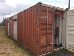 40' Shipping Container- high cube. Great workshop/man shed/man cave Rockhampton Rockhampton City Preview