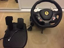 Thrustmaster Ferrari racing wheel with pedals Bexley Rockdale Area Preview