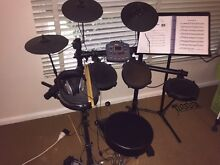 D-tronic drum kit with accessories Forest Hill Whitehorse Area Preview