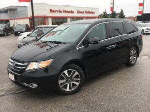 2014 Honda Odyssey Touring LEATHER, SUNROOF, REAR DVD !!!!