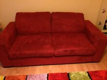 Red Sofa bed Ridgewood Wanneroo Area Preview