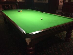 Price reduced full size 12ft top of range B & B Billiard table Edensor Park Fairfield Area Preview