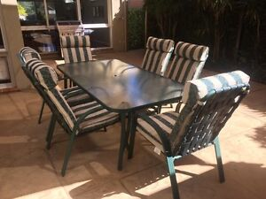 6-Seater Outdoor Setting Sylvania Sutherland Area Preview