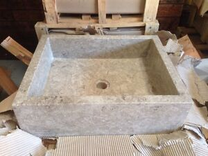 Square marble basin Ramsgate Rockdale Area Preview