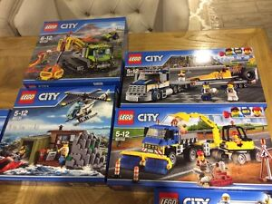 Brand new Lego 60151,60152,60137,60122,60131,60122 City Ryde Ryde Area Preview