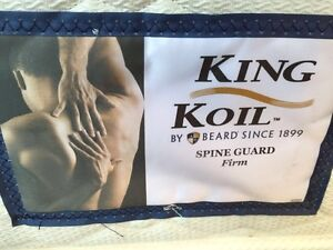 Queen king koil spine guard firm mattress - excellent condition Petersham Marrickville Area Preview