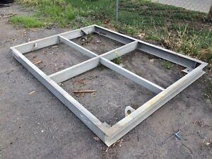 Steel deck modules, landings or tank stand frames - 14 only- $ 350 ea Ottoway Port Adelaide Area Preview