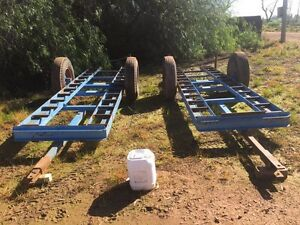 4 bin picking trailers Gogeldrie Leeton Area Preview