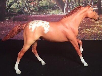 Breyer #1635 Paddock Pals Little Bits Thoroughbred Stallion Red Dun Appaloosa