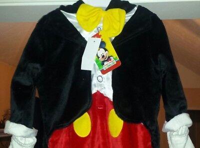 NWT! Disney MICKEY MOUSE Tuxedo Costume Baby 6- 9M Months Baby Toddler Kids (Mickey Mouse Kids Costumes)