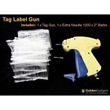 Price Tag Label Gun for Tagging Garments Includes 1000 Barbs 1 Extra Needle