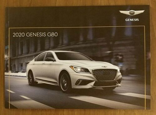2020 GENESIS G80 Brochure Catalog US 20 Hyundai 3.3T Sport 3.8 5.0 Ultimate