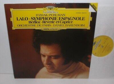 2532 011 Lalo Symphonie Espagnole Itzhak Perlman Orchestre De Paris Barenboim