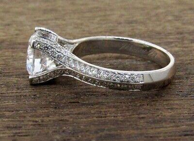 - MICHAEL M 18K White Gold Diamond Engagement Ring Setting