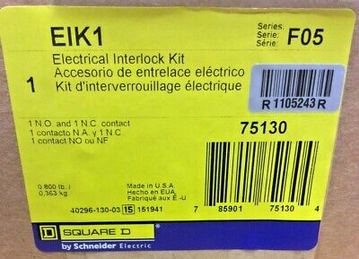 Square D Interlock Kit240600vac250600vdc Eik1