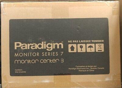 Paradigm Monitor Center 3 - center channel speaker - Cherry - brand new