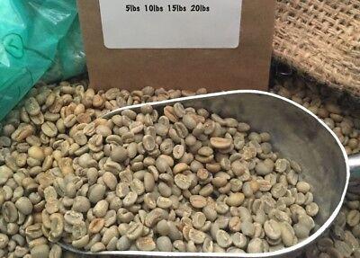 Yirgacheffe Green Coffee - 19# ETHIOPIA YIRGACHEFFE UNROASTED, GREEN COFFEE. GRADE 1. NATURAL PROCESS.
