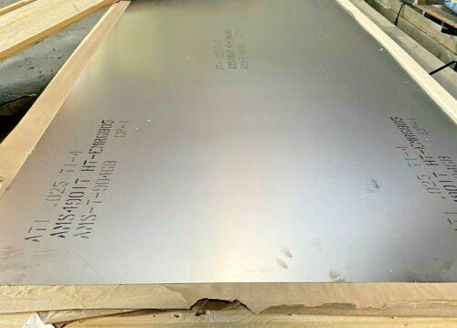 """Titanium CP-1 Sheet 24"""" x 36"""" x .025"""""""