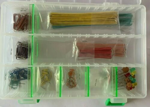 Electronix Express Jumper Wire Kit, Assorted Colors and Lengths #2700RJW90