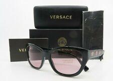 Versace MOD 4343 GB1//84 56mm Black /& Pink Medusas Women/'s Sunglasses New w//Box