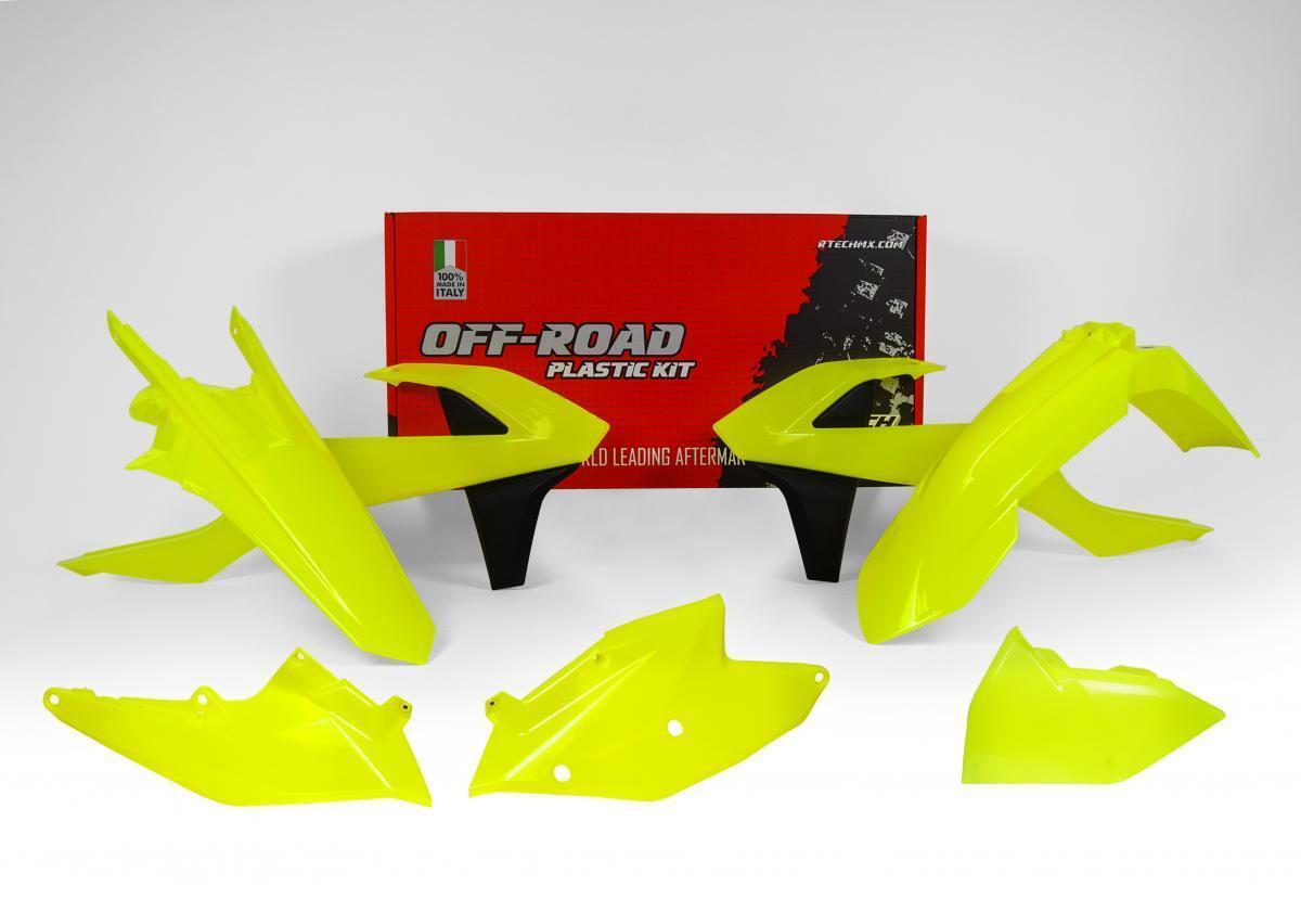 ODI LOCK ON HANDLEBAR HALF WAFFLE GRIPS FLUO ORANGE KTM EXC-F 250 350 450 500