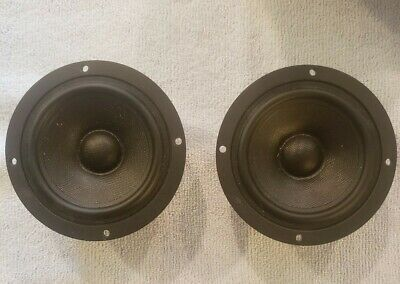 1 pair Scan-Speak 10F/4424G00 Discovery 4″ Midrange in 4 ohm (new)