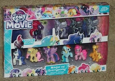 My Little Pony The Movie - MAGIC OF EVERYPONY Roundup - NEW Set w Tempest Shadow