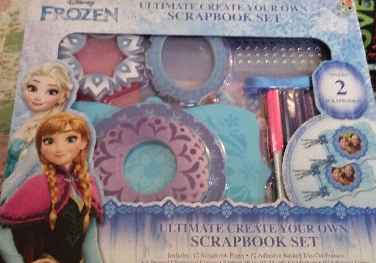 Create your own scrapbook - New Disney Frozen Ultimate Create Your Own Scrapbook