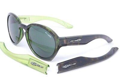 Arnette MOOLAH Sunglasses AN4170-04 2095/71 Green Havana with Grey-Green (Arnette Shades)