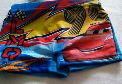 Badehose Boxer Blau Wars Cars 3,4,6,8 Jahre