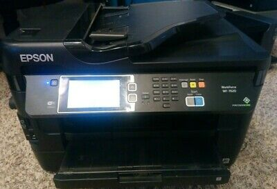 Wide Format Printer Epson WorkForce WF-7620 All-in-One Printer 11x17 ledger,