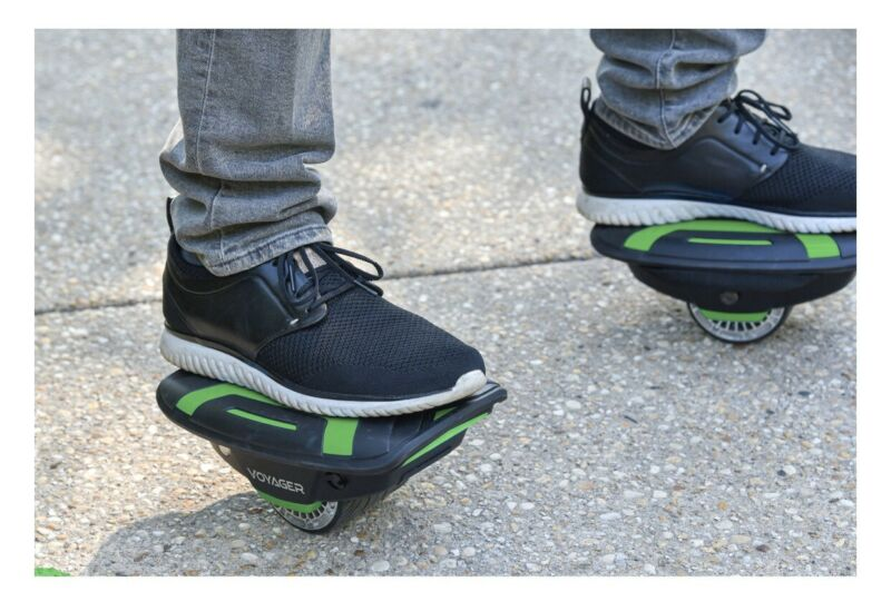 Voyager Space Shoes Hover Skates 6.2 MPH Electric For kids and Adults Led Lights