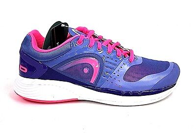 Head Womens Blue and Pink Sprint Pro Shoe Size 9