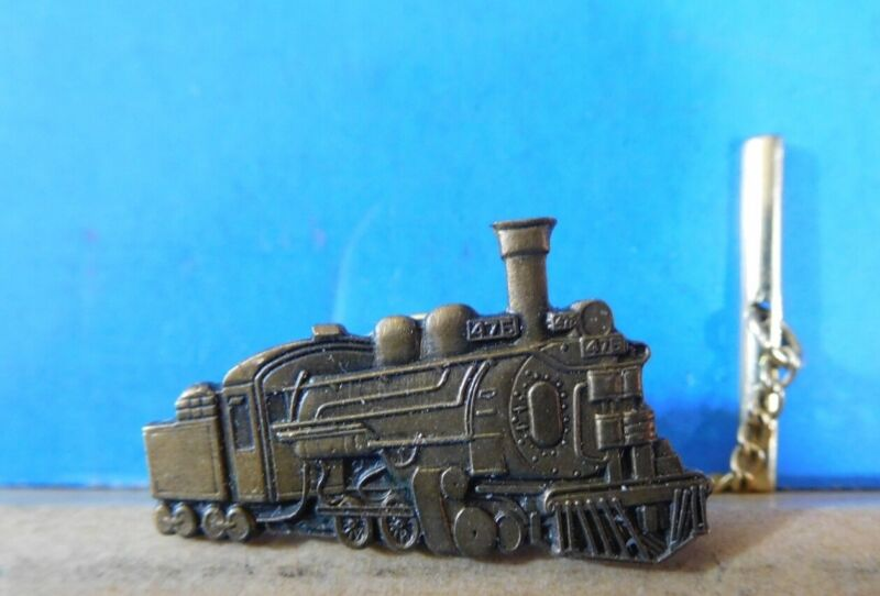 Lapel Pin Steam Locomotive #475 Lapel Pin Tie Tack