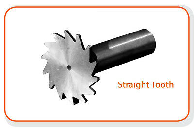 """1/"""" Diameter 90°Degree Included Double Angle Cutter HSS Moon Cutter USA"""