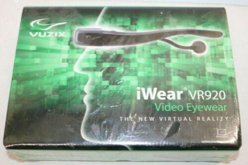 Vuzix iWear AV920 Video Eyewear Virtual Reality Glasses