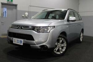 2013 Mitsubishi Outlander ZJ MY13 ES 2WD Grey 5 Speed Manual Wagon