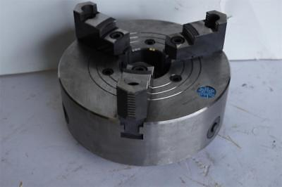 New Sca Sweden 10 2pc Jaw Forged Steel 3-jaw Lathe Chuck L-00 L00 Back 2311