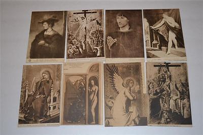 Lot Vintage Old  Postcard Antwerp Early Century 1900s  Musee Royal d-Anvers