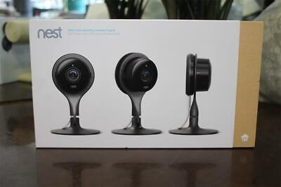 Nest Cam Security Camera 3 pack NEW SEALED