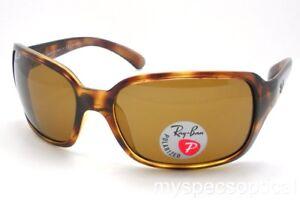 9e172576e6 Ray Ban 4068 642 57 Havana 60 Brown Polarized Sunglasses New Authentic