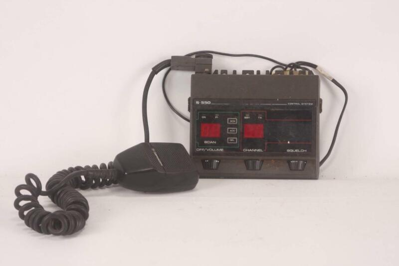 GE S-550 Control System General Electric S550 Control Head with Mic