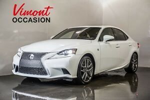 2016 Lexus IS 350 F SPORT PKG 2 CUIR AWD NO ACCIDENT RECORD