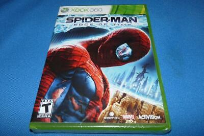 NEW SPIDER-MAN EDGE OF TIME X-BOX 360 VIDEO GAME FACTORY SEALED AUTHENTIC