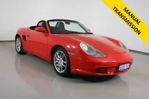 2004 Porsche Boxster 986 Red 5 Speed Manual Roadster